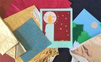 Askarreltuja joulukortteja