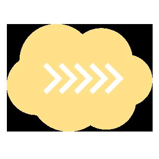 Pilvi keltainen