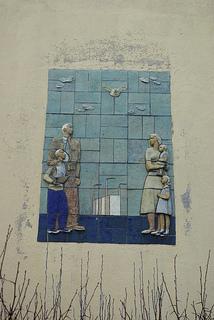 kirkon reliefi