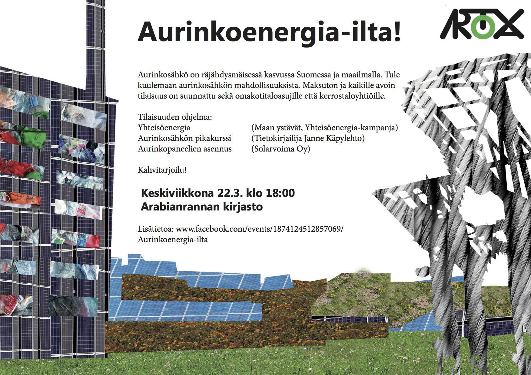 aurinkoenergiailta