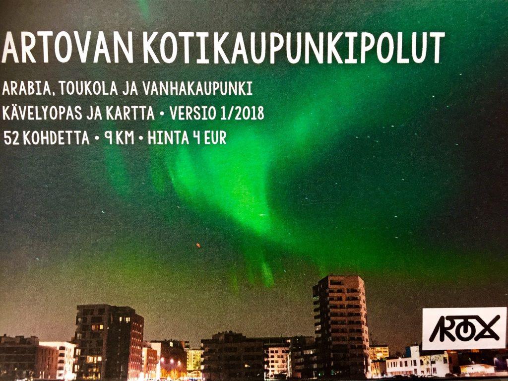 Artovan Kotikaupunkipolku Kavelyopas Ja Kartta Nyt Myynnissa