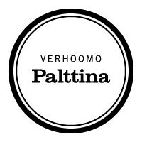Palttina Logo Musta