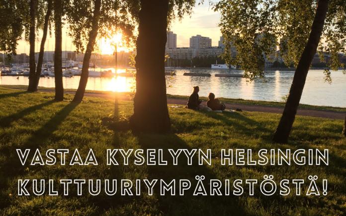 Kulttuuriympäristökysely 2021 Helsingissä