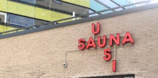 Helsingin Jätkäsaaren Uusii Sauna (Leo Martiala)