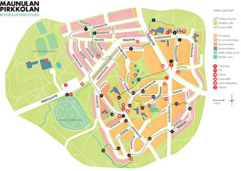 kotikaupunkipolku kartta 2012