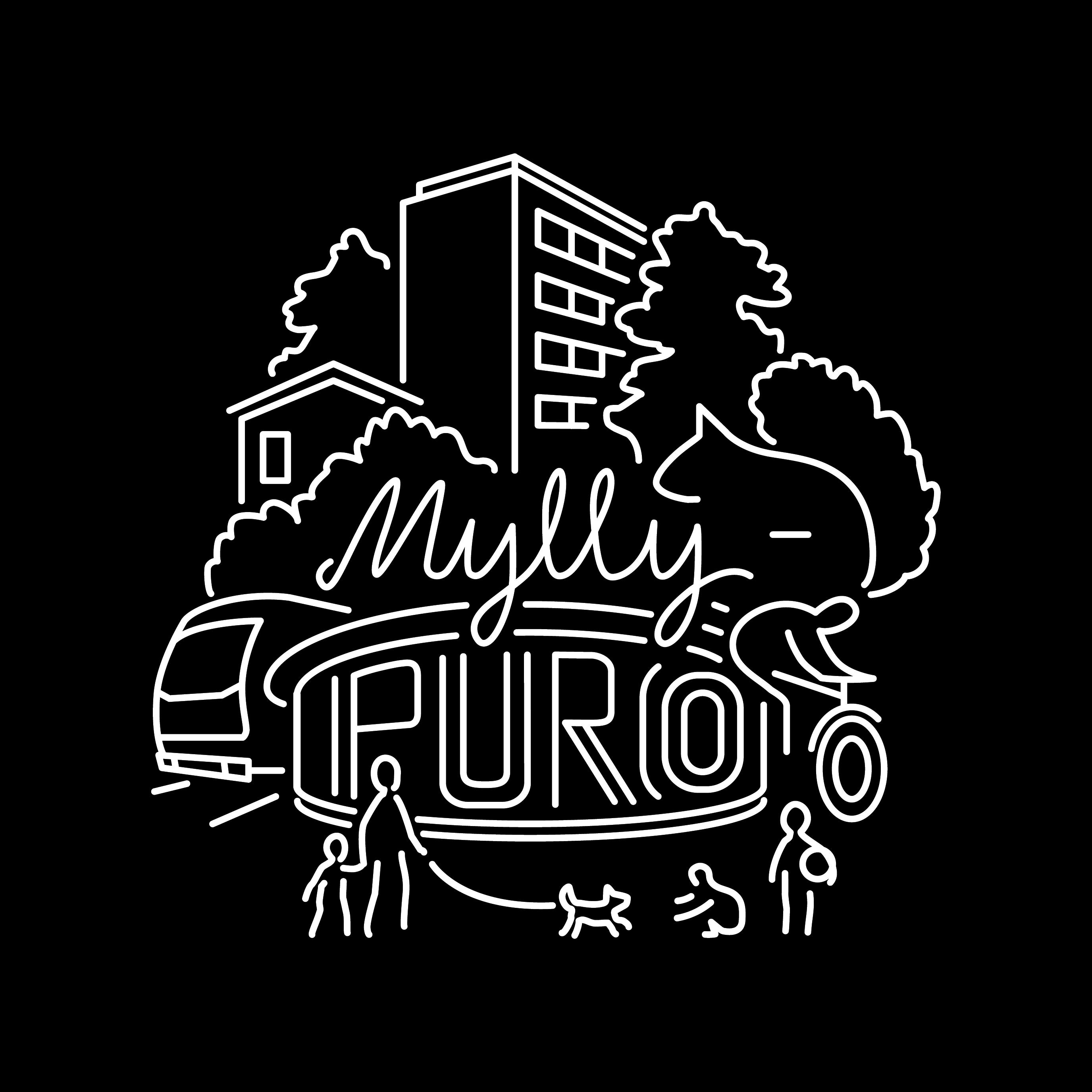 Myllypuro logo valkoinen web tausta
