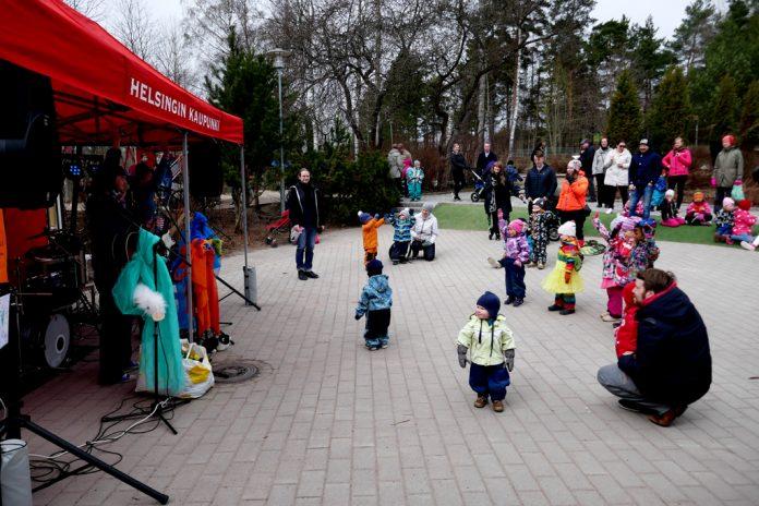 Leikkipuisto Strömberg Vappujuhlasta 2018 xs