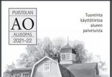 Puistolan Alueoppaan kansikuva 2021-2022