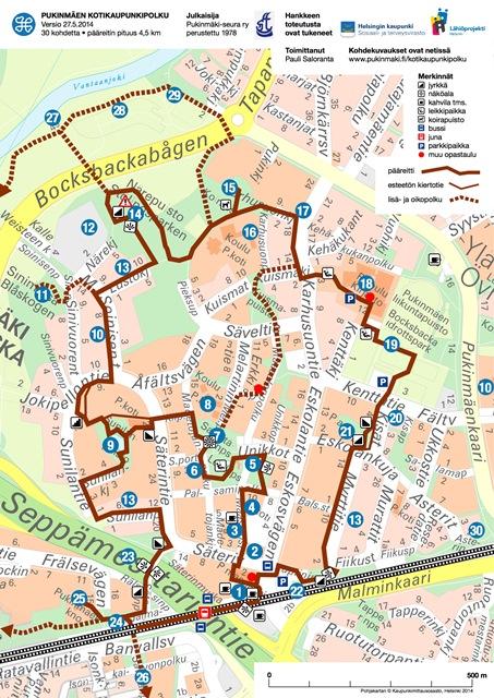 Kotikaupunkipolku Interaktiivinen Kartta Pukinmaki