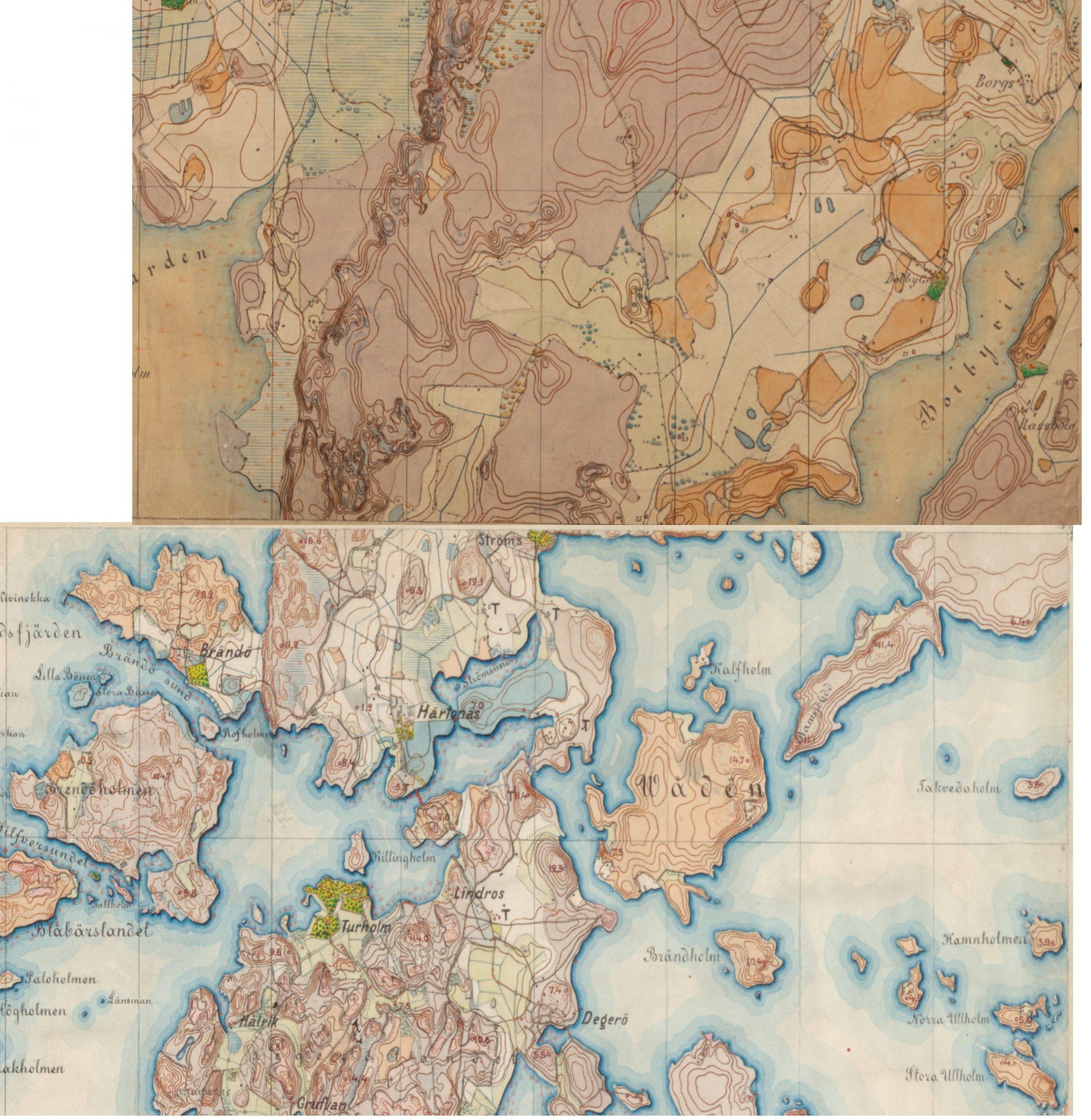 1870-99 Senaatin kartasto Roihuvuori