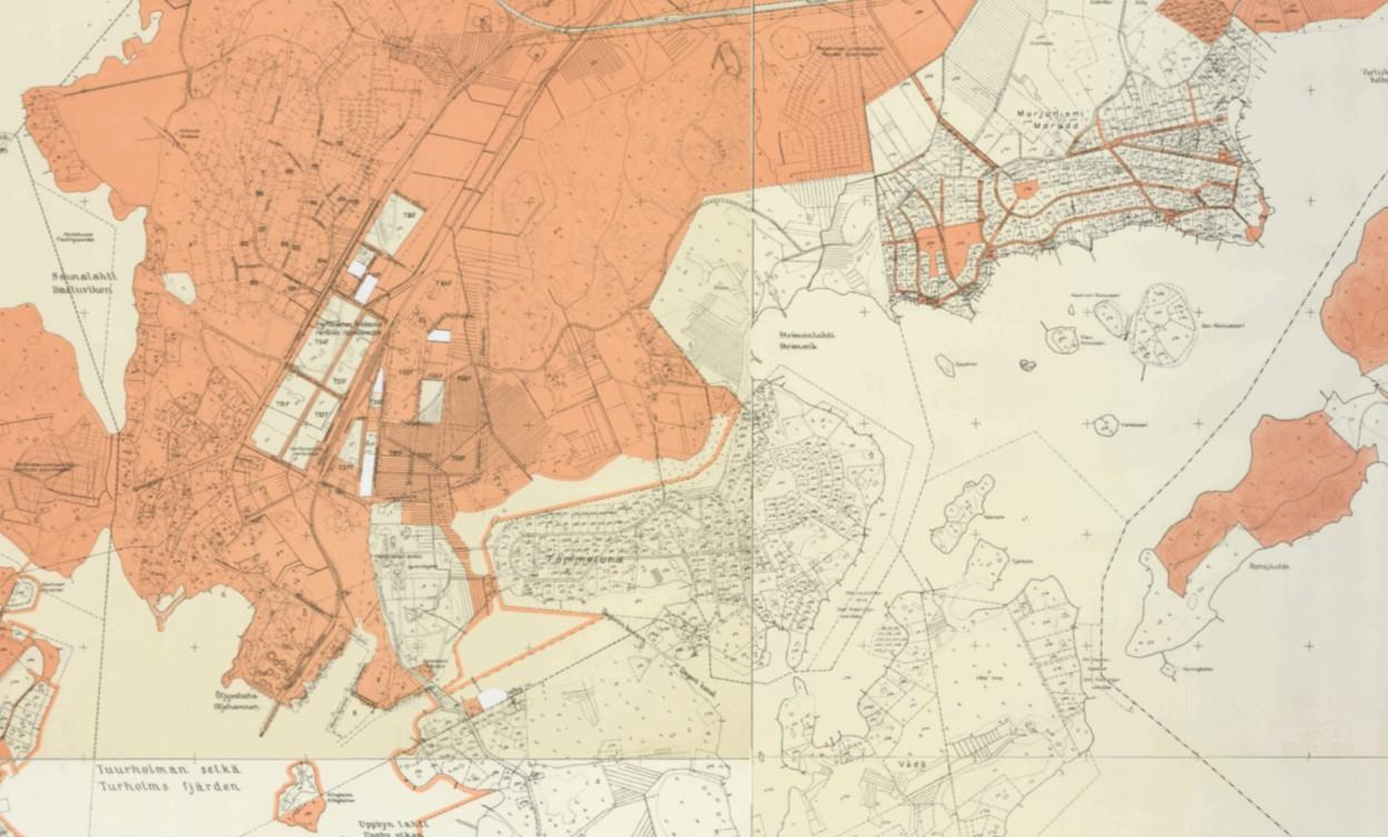 Hki Kiinteistokartta 1945