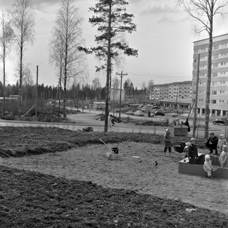 1958 04 Roihuvuori Roihuvuorentie 26 HKMS000005 km0000mw2o Finna Helsinigin kaupunginmuseo