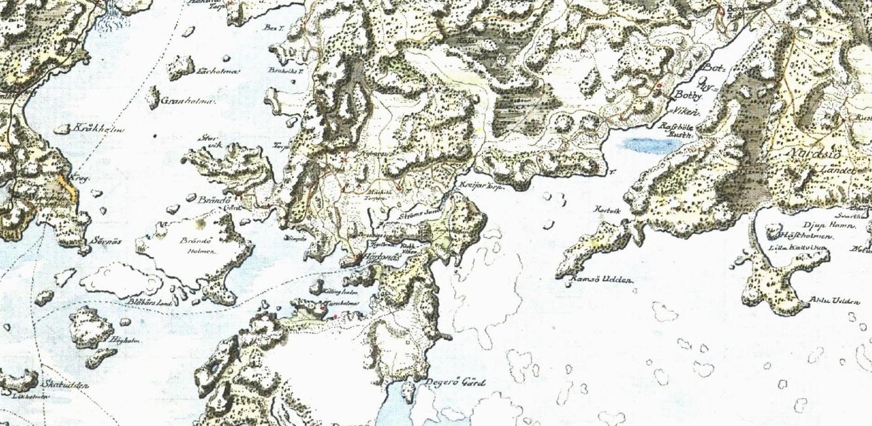 Kuninkaan Kartasto 1776 Herttoniemi