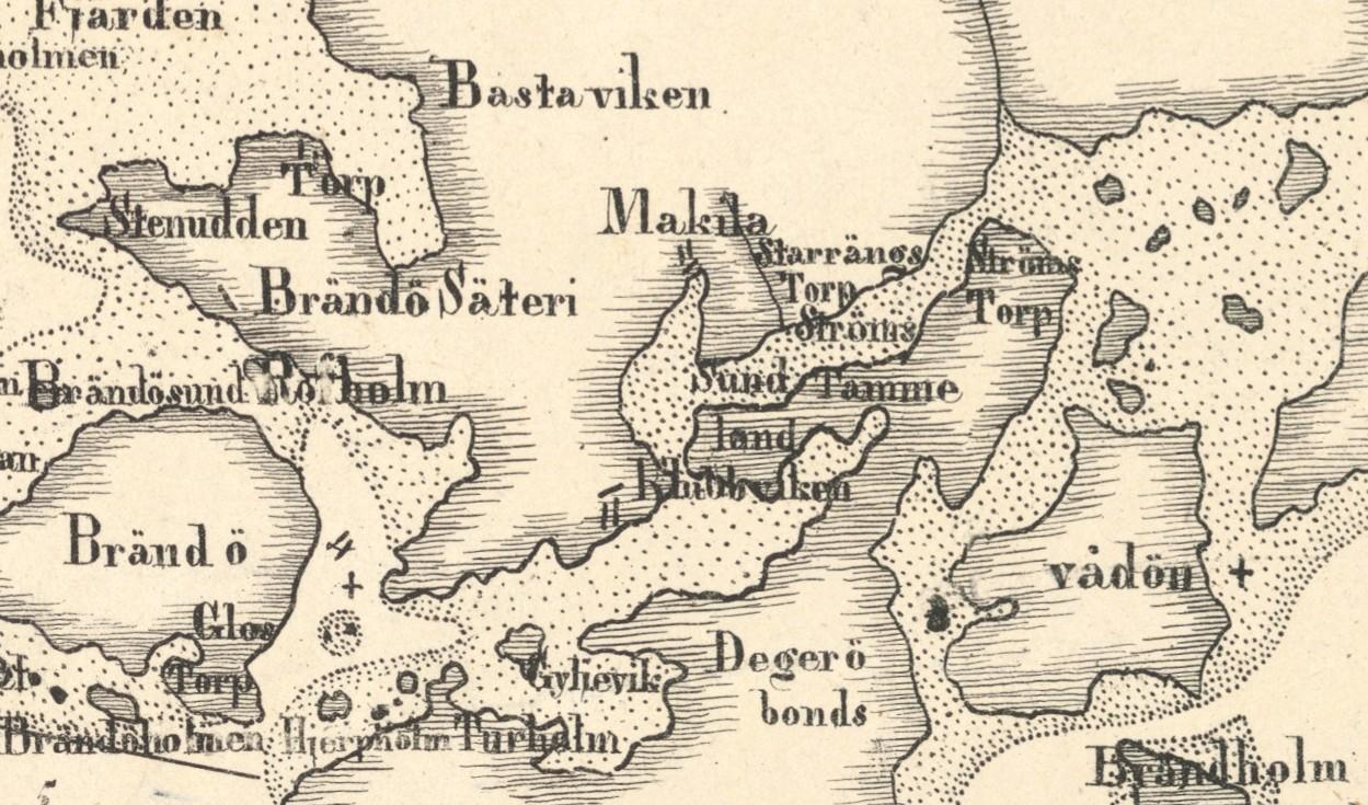 Roihuvuori 1835 Scharenberg