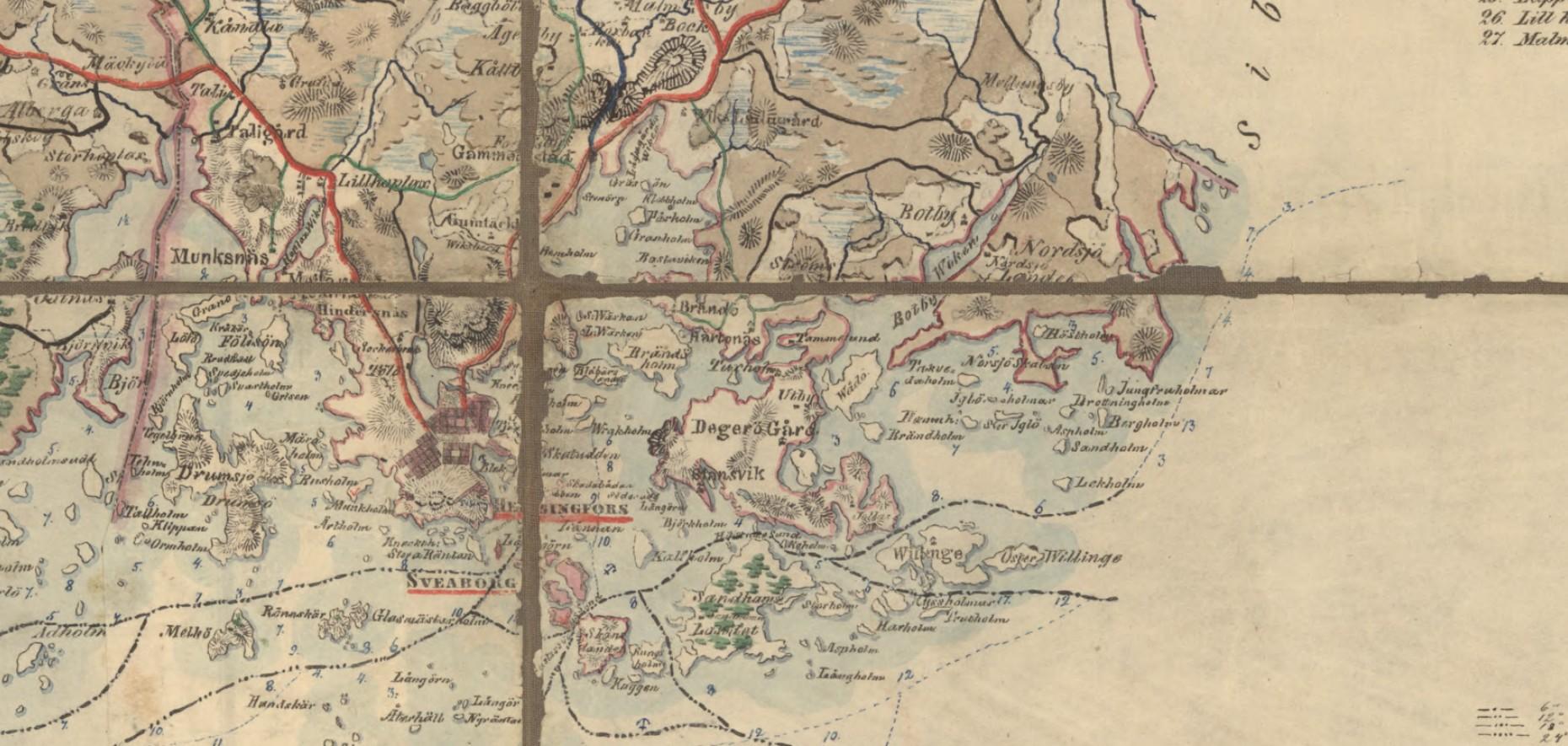 Pitäjänkartta 1843