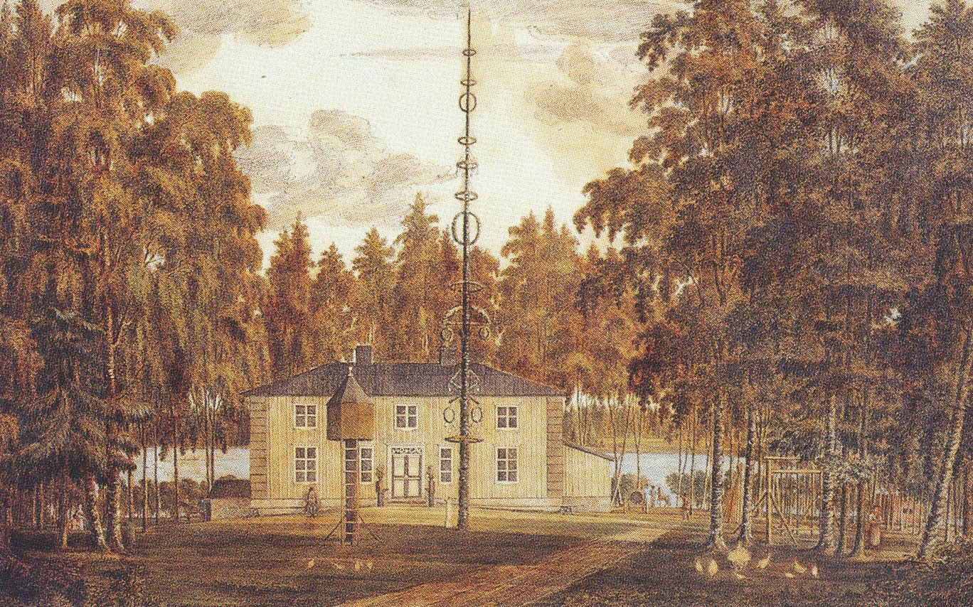 Strömsin kartano 1800 luvun alku