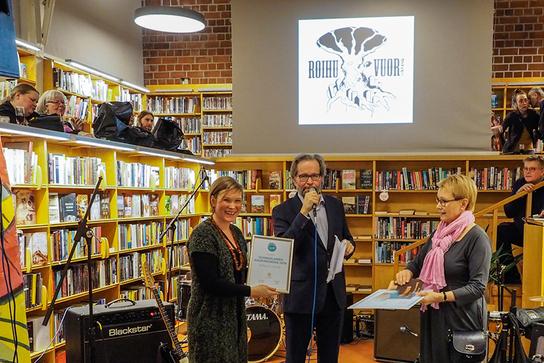 Vuoden 2019 uusmaalainen kaupunginosa Roihuvuori palkittiin Kuvaaja Iiro Kaukiainen