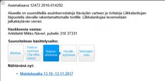 Liikkalankuja vaihe 2017 10