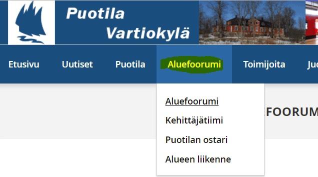 www menu
