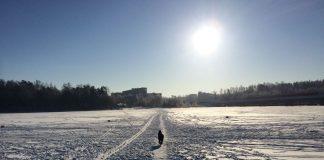 Puotila meri jäässä Anni Kupiainen