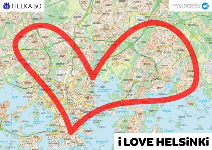 I Love Helsinki -kotikaupunkipolkukierros