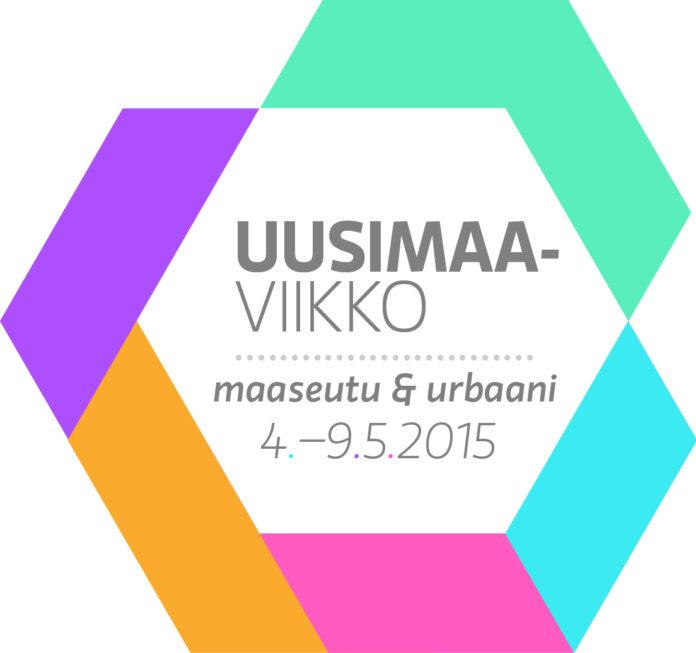 Uusimaa viikko logo 2015