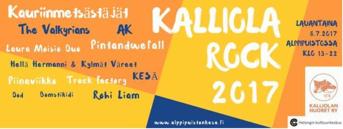 Kalliola rock 2017